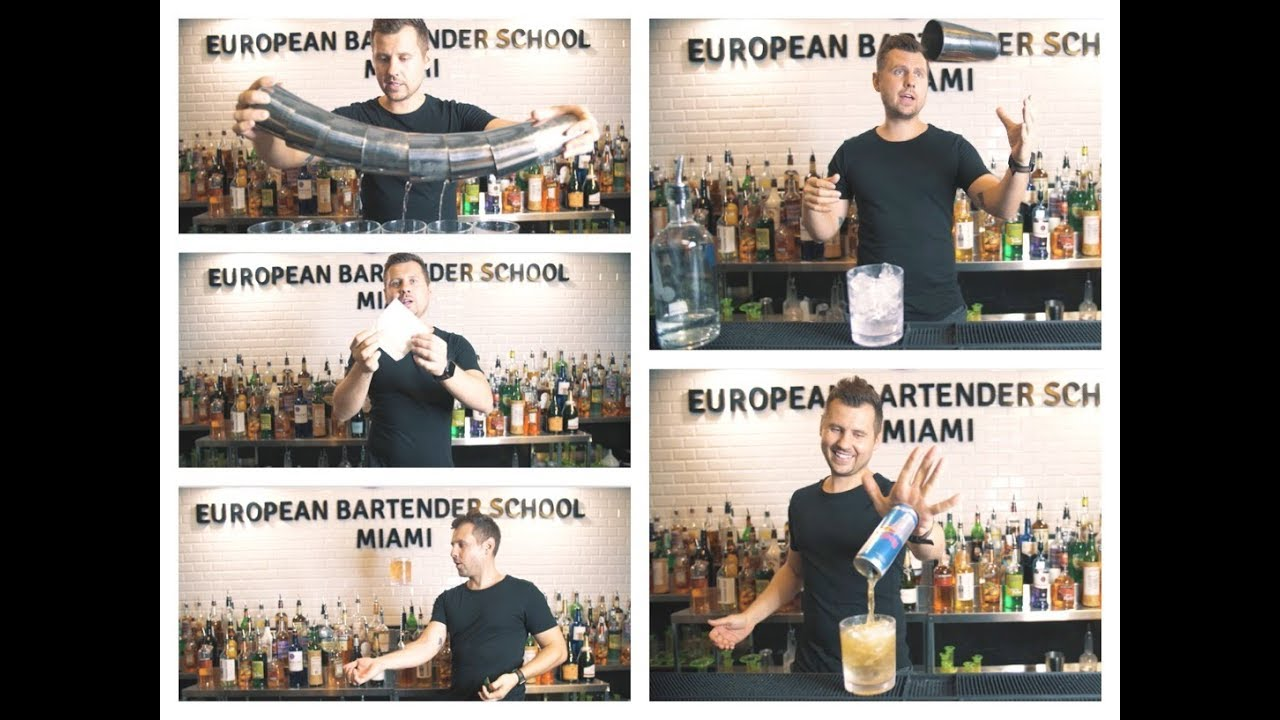 5 Easy Most Impressive Tricks Bartenders Do To Make Big Tips Youtube