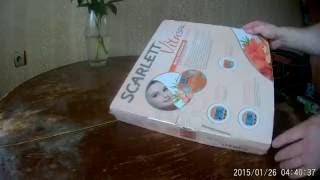 Весы напольные Scarlett SC - BS33ED79 обзор