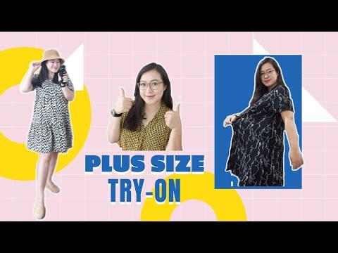 ĐỊA CHỈ MUA ĐỒ SIZE TO/PLUS SIZE Haul & Try-on ♡Những bạn nào To béo nên xem video này