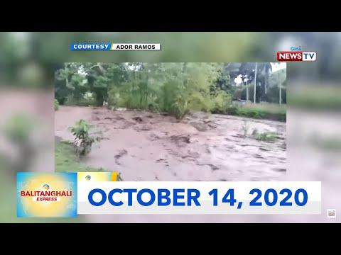 Balitanghali Express: October 14, 2020 [HD]
