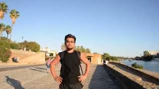 アキーラさん散策⑦スペイン・セビーリャ(セビリア)・グアダルキビル川沿い遊歩道!RIve in Sevilla,Spain