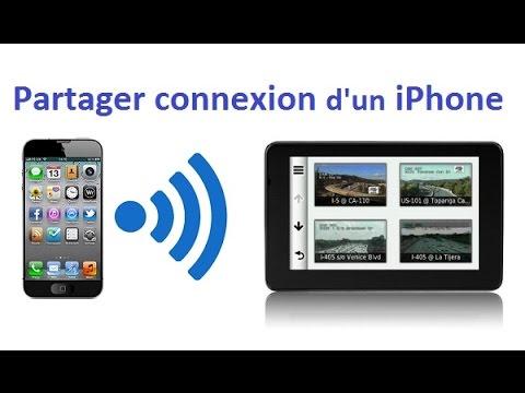 Activer Le Partage De Connexion Sur Iphone Tansformer Iphone En Modem