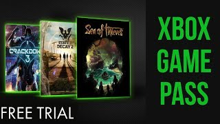 Xbox Game Pass - 2 Week Free Trial (is it worth it?)