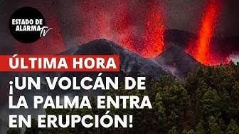 Imagen del video: DIRECTO: Erupción del volcán en La Palma