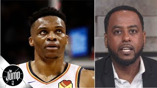 The Rockets' trade for Russell Westbrook gets a 'D' grade from Amin Elhassan | The Jump