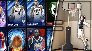 1 DUNK = 1 PACK NBA LIVE MOBILE ROAD TO DUNKING (Episode 2)