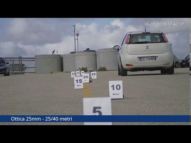 Test ottica 25mm