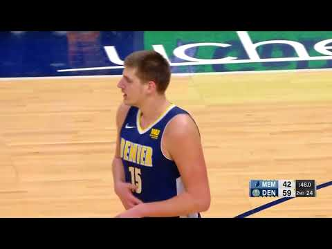 Nikola Jokic vs Marc Gasol Is A Must See Everytime (Highlights) - Nuggets vs Grizzlies -
