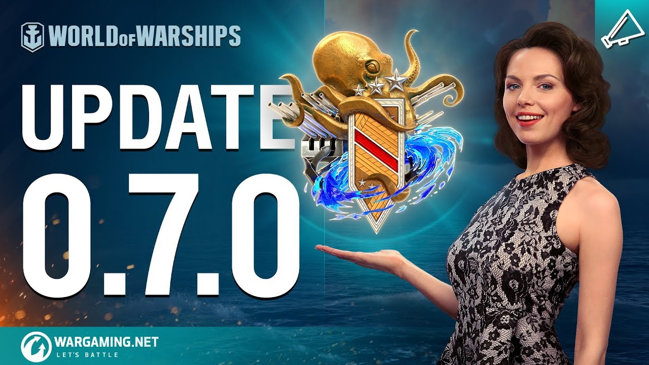 World of Warships –  Update 0.7.0