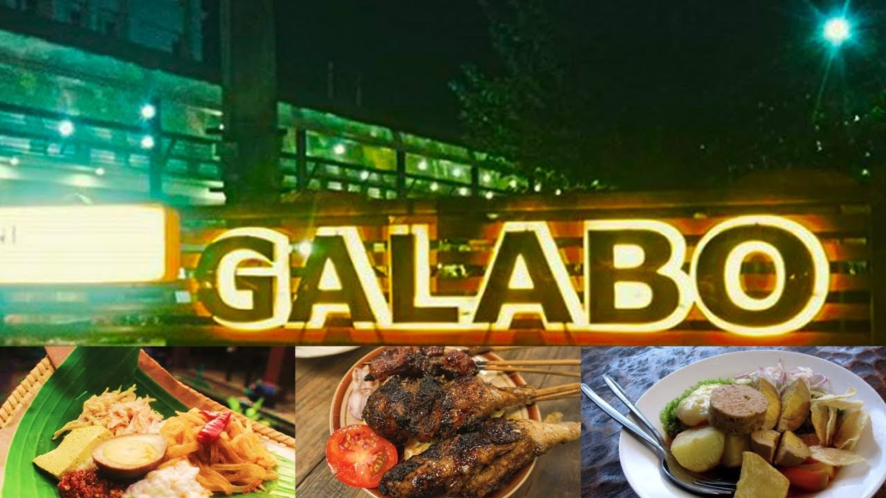 Galabo Pusat Kuliner Malam Kota Solo Youtube
