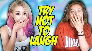 Try Not To Laugh Challenge With Baby Ariel