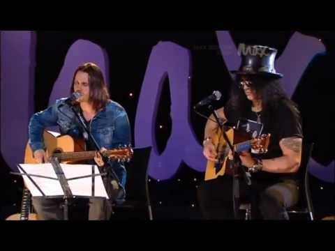 Starlight – Slash & Myles Kennedy – Acoustic – MAX Sessions 2010 – Best Quality 480p