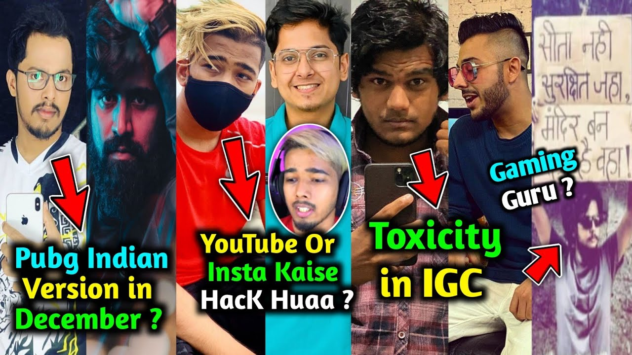 PubG Indian Version in December? - Kronten | Scout YouTube Hacked Story | Ghatak Message to Gamers