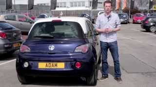 Dave Test Drives the Vauxhall Adam