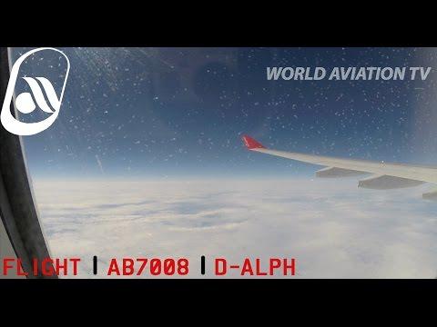Air Berlin A330 AB7008 Full Flight Dusseldorf-Ft. Myers [HD]