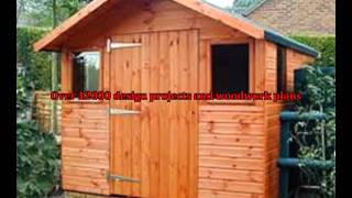 Gambrel Shed Plans - Learn How To Build A Gambrel Shed