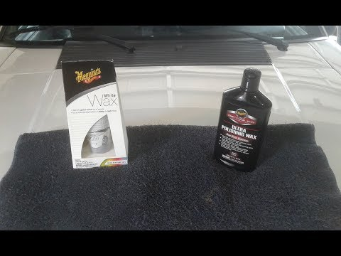 Meguiar's White Wax vs. D166 Ultra Polishing Wax on a Fox Body Mustang
