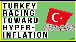 🇹🇷 Turkey Crisis Escalates and Will Encounter HYPERINFLATION! Banks Have Fallen 70%!