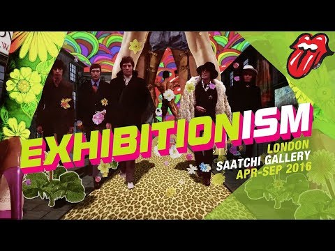 The Rolling Stones Exhibitionism Now open in London!