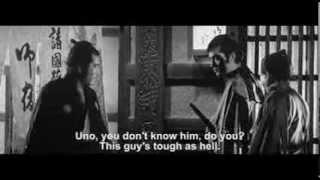 YOJIMBO Trailer 1961  Toshirô Mifune, Eijirô Tôno, Tatsuya Nakadai English subtitles