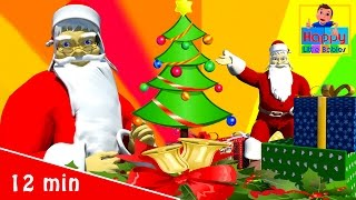 Jingle Bells | Christmas Songs | Plus  More Children's Songs |  Happy Little Babies Nursery Rhymes
