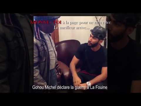 GOHOU MICHEL Déclare La Guerre à LA FOUINE à Paris