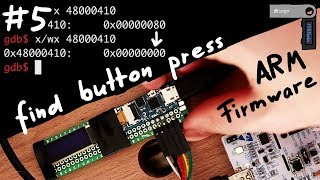 Identify Bootloader main() and find Button Press Handler - Hardware Wallet Research #5