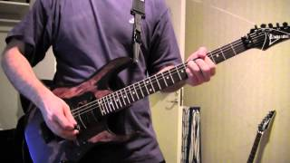 Megadeth - Train of Consequences guitar cover