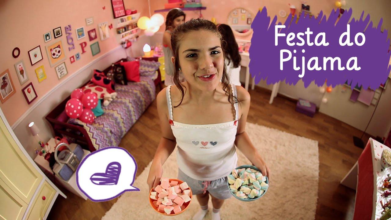Festa do pijama mulher