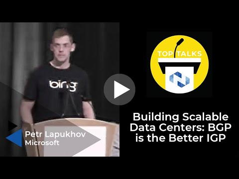 Building Scalable Data Centers: BGP is the Better IGP