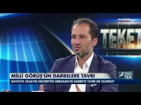 Fatih Erbakan'ın Darbe Girişimi yorumu ve Cübbeli Ahmet Hocaya Cevabı