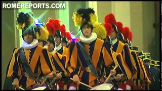 What does the Swiss Guard do during the Sede Vacante?