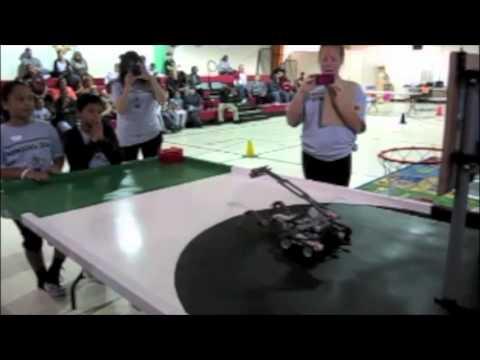 Robotics Competition at Hawk Eye Elementary School 4-13-13