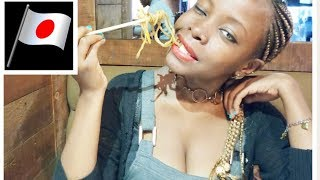 FIRST TIME!!!/TASTING JAPANESE FOOD IN NAIROBI TOWN/KENYA!