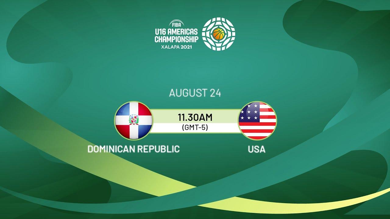 Download Dominican Republic v USA   Full Game - FIBA U16 Americas Championship 2021