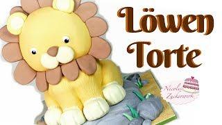 3D Löwen Torte I Motivtorte I Kindergeburtstagstorte von Nicoles Zuckerwerk