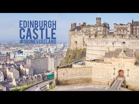 Edinburgh Castle 4K Drone Footage