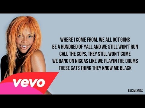 Lil' Kim - Espacio (Lyrics Video) Verse HD