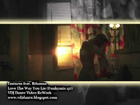 Eminem feat Rihanna Love The Way You Lie Funkymix 137 VDJ Dante Video ReWork