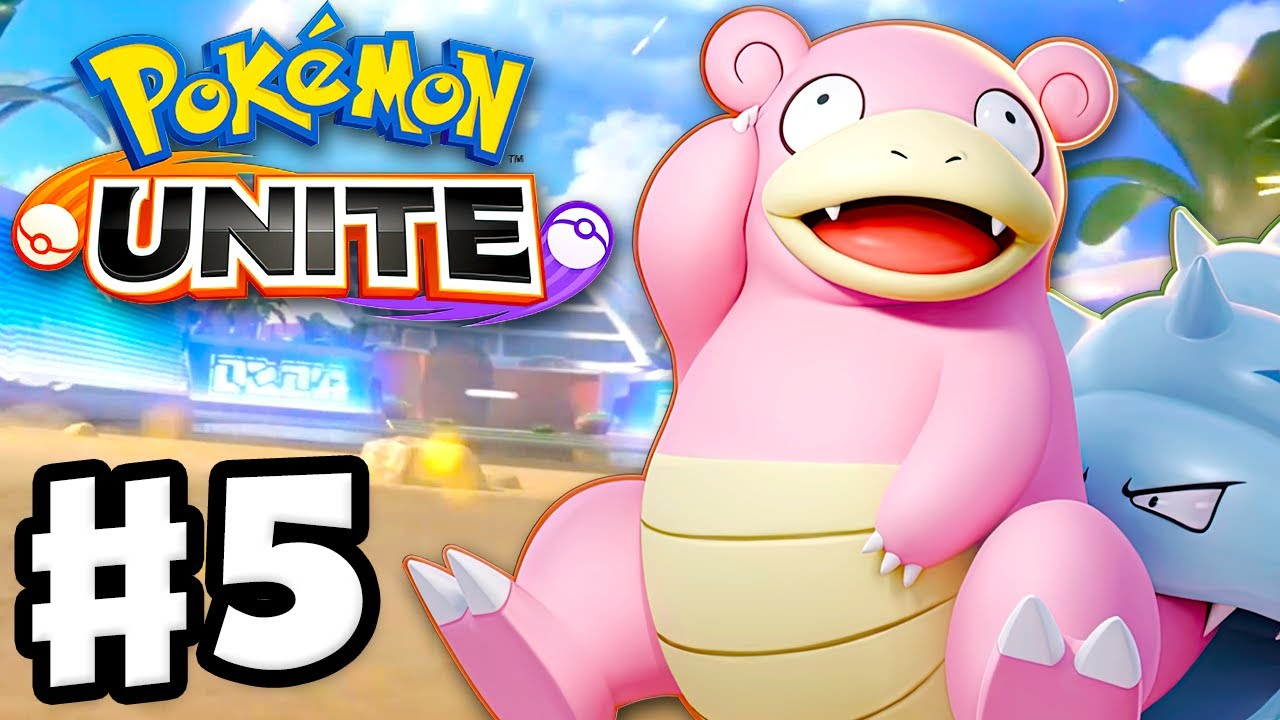 Slowbro and Quick Battles! - Pokemon Unite - Gameplay Walkthrough Part 5 (Nintendo Switch)