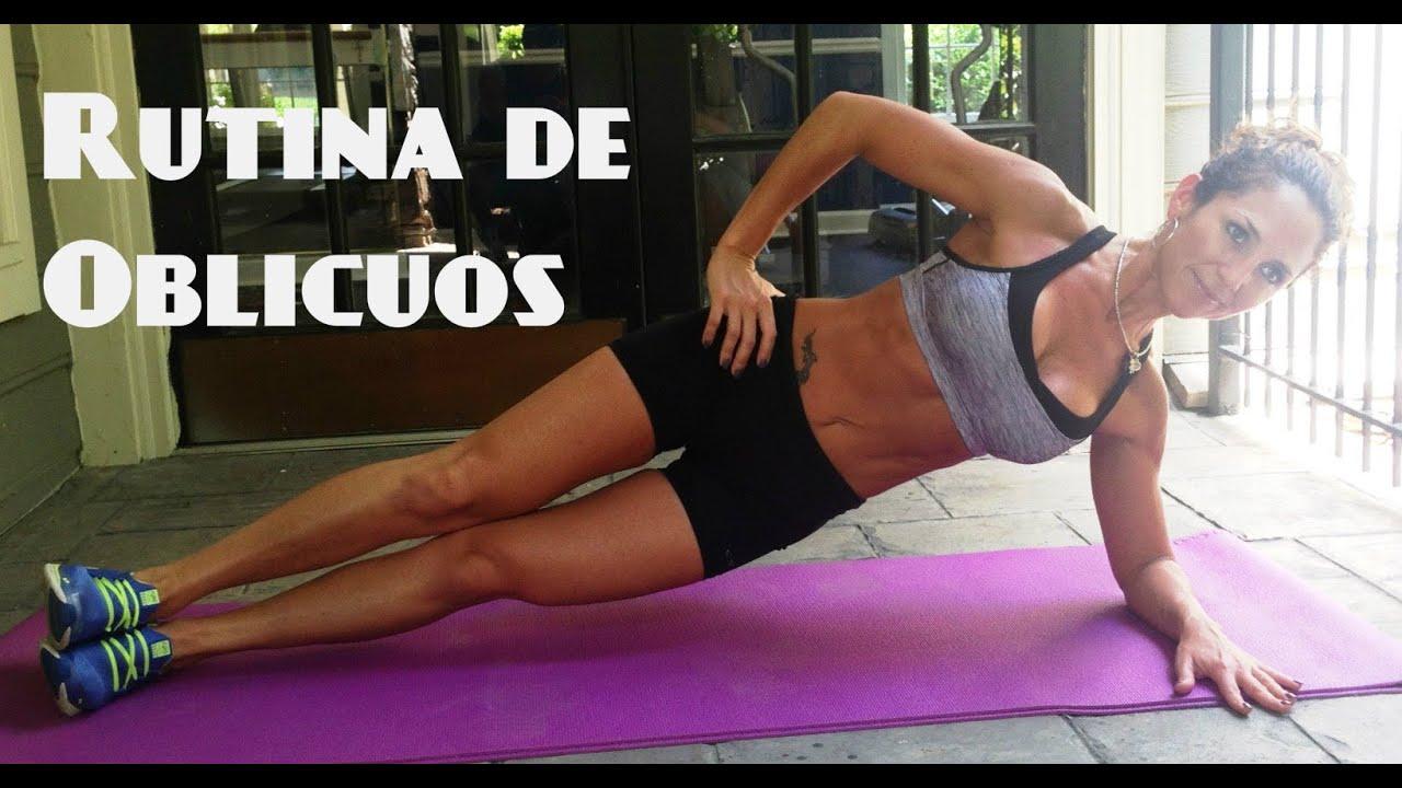 ejercicios para bajar los lados del estomago