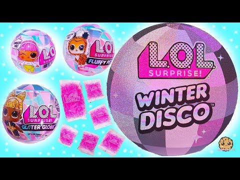 Winter Disco NEW LOL Surprise Big + Little Sisters + Fuzzy Pets Blind Bags