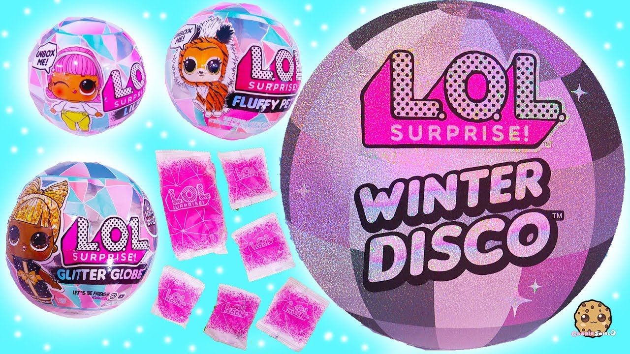 Winter Disco New Lol Surprise Big Little Sisters Fuzzy Pets Blind Bags Youtube