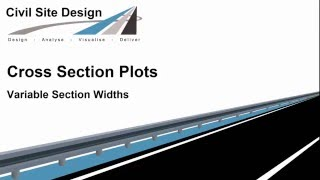 Cross Section Plots - Variable Section Widths