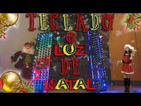 Teclado Temático Natal ?  🌲 😉 gaming por 32€ ja em PT
