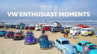 homepage tile video photo for Top 5 VW Enthusiast Moments | VW