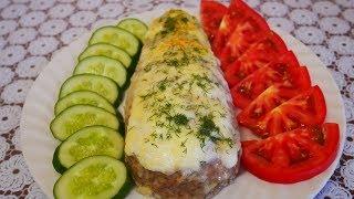 Супер закуска !!! Фаршированные баклажаны в мясной шубке Баклажаны в духовке