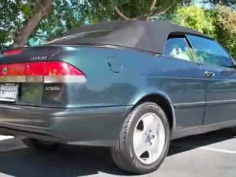 1998 saab 900 se turbo convertible youtube. Black Bedroom Furniture Sets. Home Design Ideas
