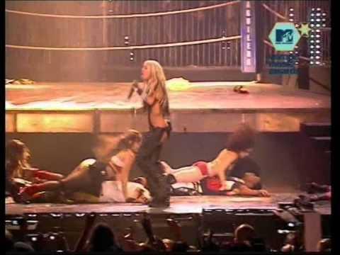 Christina Aguilera Dirrty Live Mtv Ema 2002 DVDr Conrad