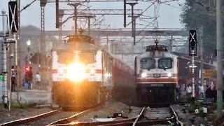 Ruthless Overtake | Aggressive A K Rajdhani Overtaking Kutch Express @ MPS